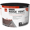 Owens Corning 9-in x 20-ft Black Plastic Ridge Vent