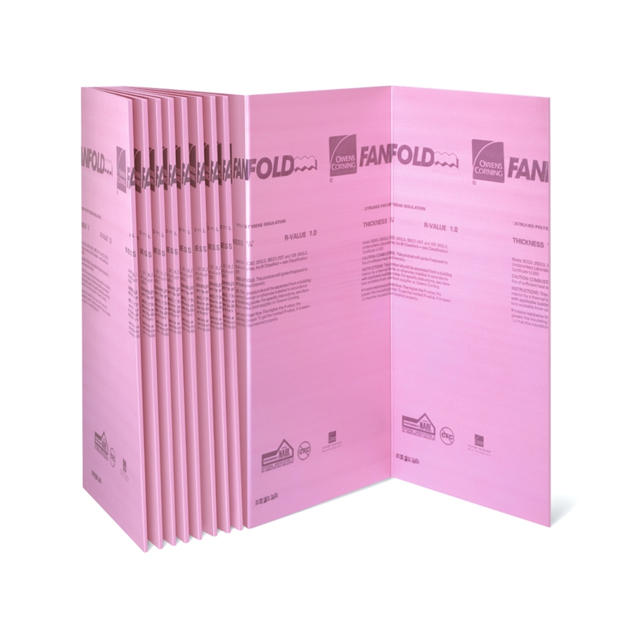 Extruded greenguard extruded polystyrene for Pink insulation r value