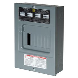 Square D 12-Circuit 6-Space 100 Amp Main Lug Load Center