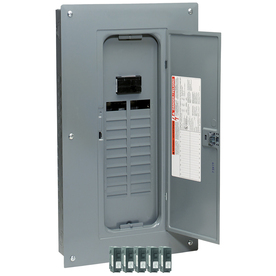 Square D 20-Circuit 20-Space 100-Amp Main Breaker Load Center (Value Pack)