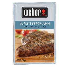 Weber 1.12 oz Black Peppercorn Marinade Kit