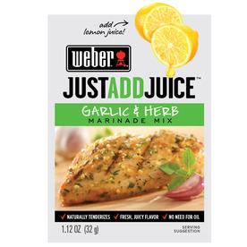 Weber 1.12-oz Garlic and Herb Marinade Kit