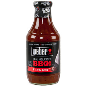 Weber 18-oz Kick'n Spicy Marinade Sauce