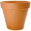 15-in H x 18.5-in W x 18.5-in D Clay Red Clay Pot
