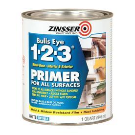 Zinsser Bulls Eye Interior Latex Primer (Actual Net Contents: 32-fl oz)