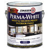 Zinsser White Satin Acrylic Interior Paint and Primer In One Paint (Actual Net Contents: 126 Fluid Oz.)
