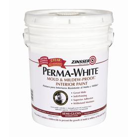 Upc 047719027508 Wall Paint Trim Zinsser Paint 5 Gal Perma White Mold And Mildew Proof