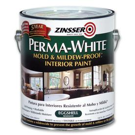 Zinsser Gallon Interior Flat White Paint and Primer in One