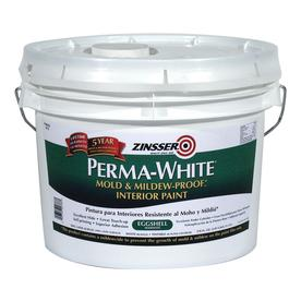 Rust-Oleum 3-Gallon Interior Flat White Paint and Primer in One