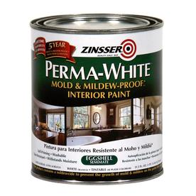 Rust-Oleum Quart Interior Flat White Paint and Primer in One