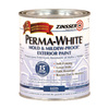Zinsser Quart Exterior Flat White Paint and Primer in One