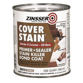 Bulls Eye Coverstain Oil-Base Primer-Sealer Interior Oil Primer (Actual Net Contents: 128-fl oz)