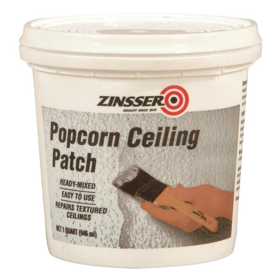 Patching a popcorn ceiling