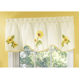 shop style selections sunflower 16 in yellow polyester rod