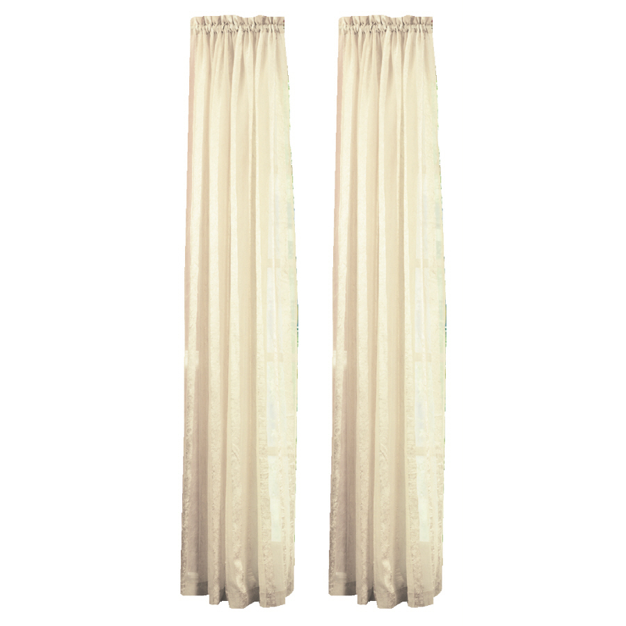 Enlarged image Beige curtains