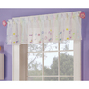 Style Selections 16-in L Multicolor Streamers Tailored Valance