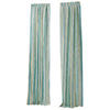 "Style Selections 84""L Blue Curtain Panel"