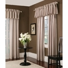 allen + roth Alison 84-in L Striped Ivory Rod Pocket Window Curtain Panel