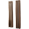 allen + roth 84-in L Chocolate Florence Curtain Panel