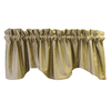allen + roth 18-in L Taupe Florence Tapered Valance