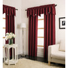 allen + roth Florence Solid Rod Pocket Window Curtain Panel
