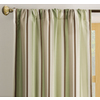 allen + roth&nbsp;84-in L Green Alison Curtain Panel