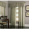 allen + roth 18-in L Green Alison Tailored Valance