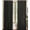 allen + roth 84-in L Black Sullivan Curtain Panel