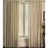 allen + roth Sullivan 84-in L Checked Ivory Grommet Window Curtain Panel
