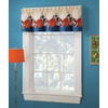 Style Selections 16-1/2-in L Multicolor Juvenile Tailored Valance