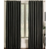 allen + roth 95-in L Black Sullivan Curtain Panel
