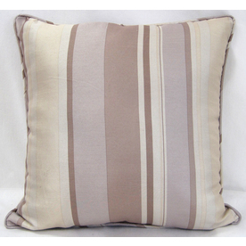 allen + roth 18-in W x 18-in L Ivory Square Decorative Pillow