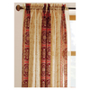 allen + roth 84-in L Red Cheshire Sheer Curtain
