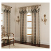 allen + roth Cheshire Print Rod Pocket Window Sheer Curtain
