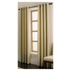 allen + roth 84-in L Wheat Vernon Curtain Panel