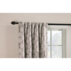 Style Selections Barrett 84-in L Geometric Thermal Back Tab Window Curtain Panel