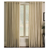 allen + roth 63-in L Ivory Sullivan Curtain Panel