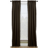 Style Selections 84-in L Thermal Chocolate Walker Curtain Panel