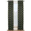 Style Selections 84-in L Thermal Chocolate Quinn Curtain Panel