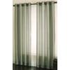 allen + roth Edistone 84-in L Solid Green Grommet Window Sheer Curtain