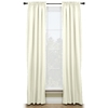 Style Selections Walker 84-in L Solid Snow Thermal Rod Pocket Window Curtain Panel