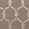 allen + roth Parksley 84-in L Light Filtering Geometric Ivory Rod Pocket Window Curtain Panel