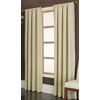 allen + roth Parksley 84-in L Light Filtering Geometric Gold Rod Pocket Window Curtain Panel