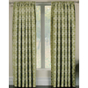 allen + roth Callendale 84-in Green Polyester Rod Pocket Light Filtering Single Curtain Panel