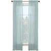 Style Selections Kenna 84-in L Solid Mineral Rod Pocket Window Curtain Panel