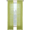 Style Selections Kenna 84-in L Solid Rod Pocket Window Curtain Panel