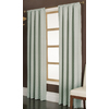 allen + roth Parksley 95-in Dusk Cotton Rod Pocket Single Curtain Panel