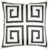 allen + roth 18-in W x 18-in L White Square Accent Pillow Cover