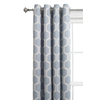 Style Selections Quinn 84-in L Geometric Thermal Grommet Window Curtain Panel