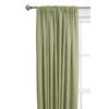 Style Selections Treyor Light Filtering Solid Rod Pocket Window Curtain Panel